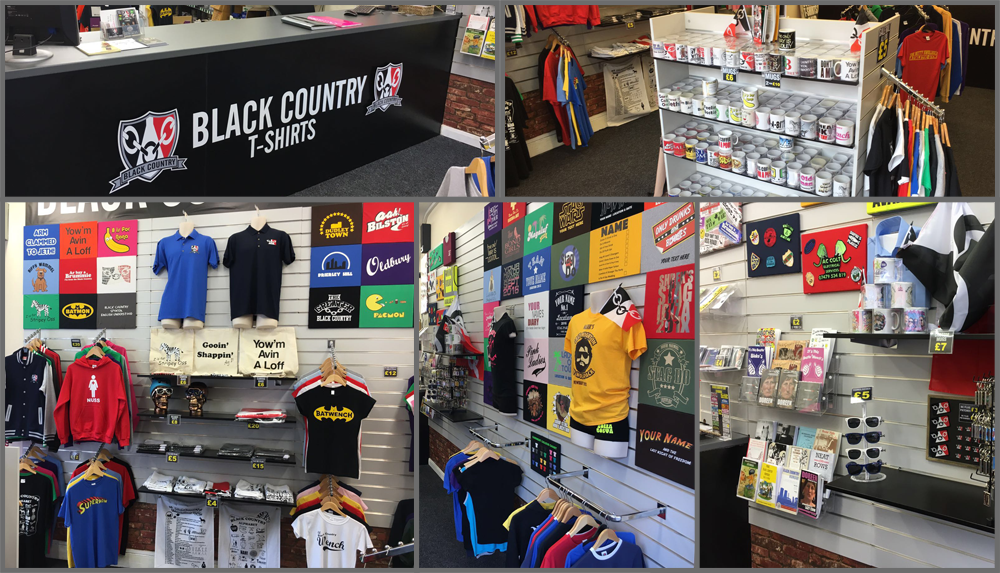 Inside Black Country T Shirts