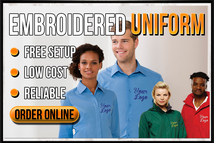 Order Embroidered Uniform Online