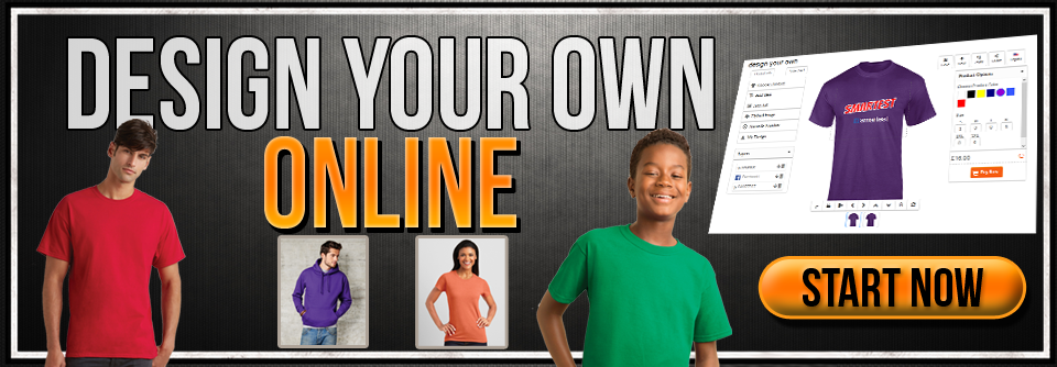 Design Your Own T Shirts & Hoodies