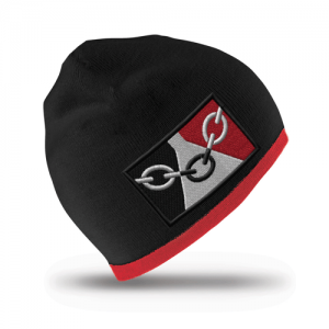 Black Country Flag Beanie Hat