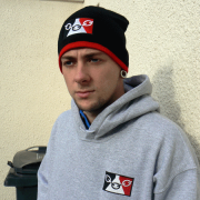 Black Country Flag Beanie Hat 3