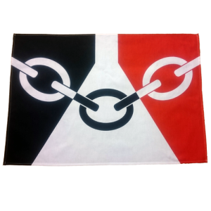 Black Country Flag Tea Towel