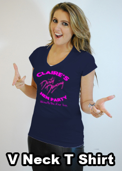 Dirty dancing hen party t shirt black country t shirts for Hen party t shirts