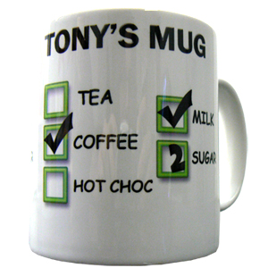 Personalised Office Mug