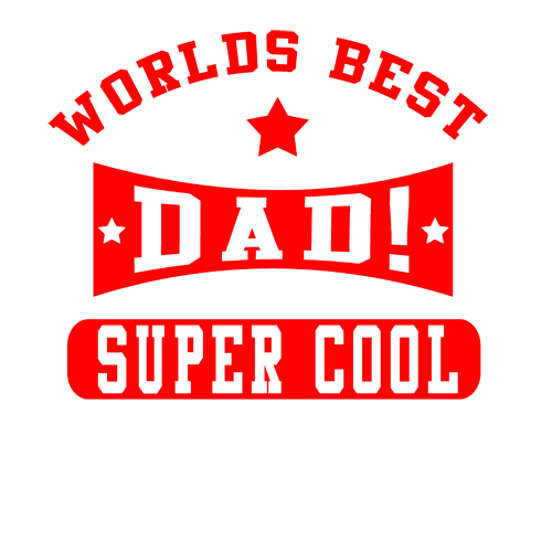 Super Cool Dad T Shirt | Black Country T Shirts