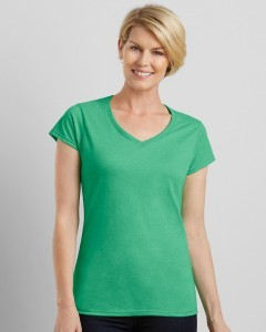Design A Ladies V Neck Tee Online