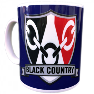 Black Country Shield Mug