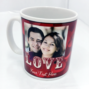 Photo Upload Couples Mug