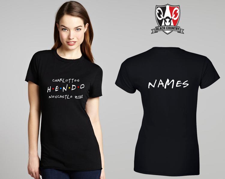 Custom T Shirt Printing Personalised T Shirts Garment