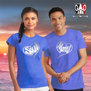 Soul Mates Couples T shirts
