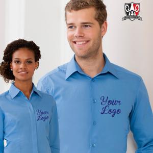 Custom Embroidered Work Shirt
