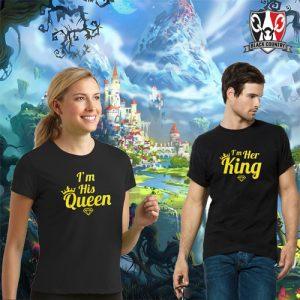 His Queen & Her King Tees