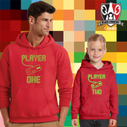 Retro Gaming Father & Child Hoody