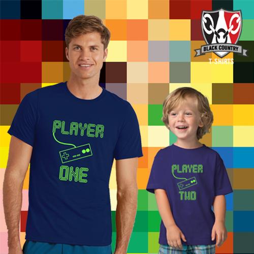 Retro Gaming Father & Child T-Shirts