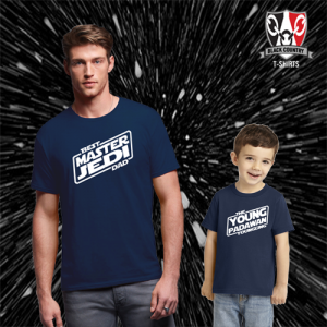 Jedi & Padawan Father & Child T-Shirts