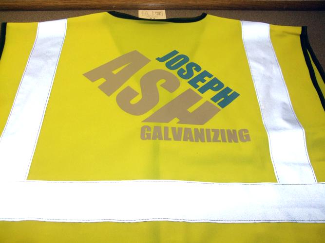 Custom Printed Hi Vis Vests Black Country T Shirts