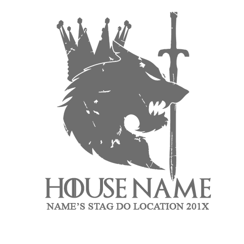 House Stark Stag T Shirt | Black Country T Shirts