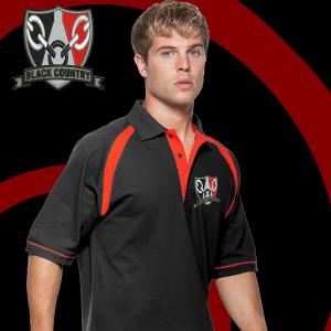 Black/red BC Polo Shirt