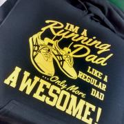 Running Dad Hoodie