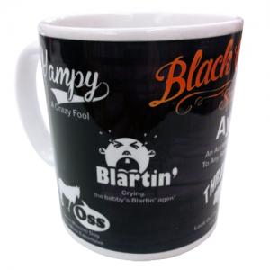 Black Country Spake Mug