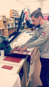 Vinyl Printing in action