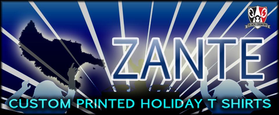 Zante T Shirts