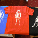 Horizon Band T Shirts Printed Back