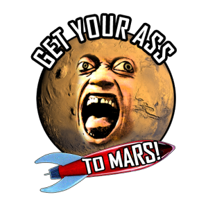 Arine Tee - Get Your Ass To Mars