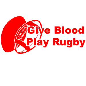 Give Blood , Play Rugby T Shirt