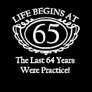 Life Begins At - Custom Birthday T Shirt
