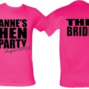 80s Hen Party T Shirts