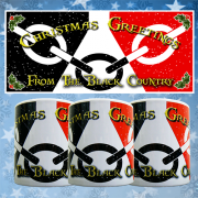 Black Country Flag Christmas