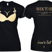 Bond Girl Boobs T Shirt