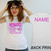 Caution Hen T Shirt