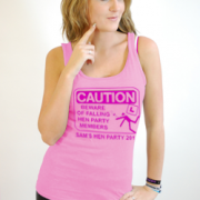 Caution Hen Party Vest