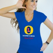 Fosters Hen Party V Neck T Shirt