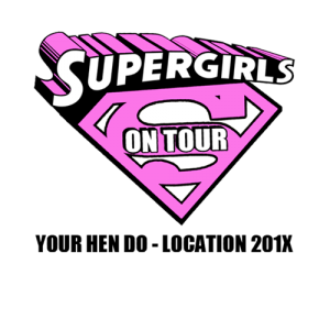 Supergirls On Tour Hen Party