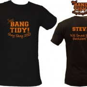 Bang Tidy Stag Party T Shirts