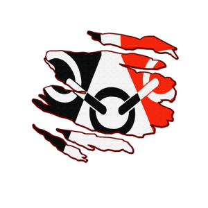 Black Country Flag Inside Rip