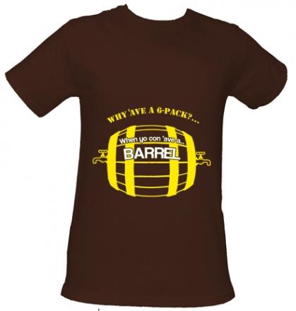 beer barrel-t-shirt
