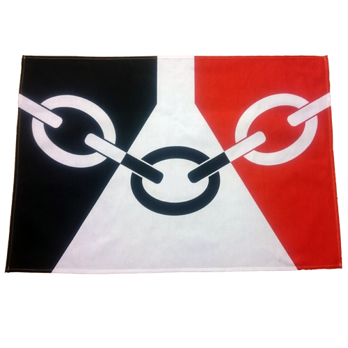 Black Country Flag Tay Towel Black Country T Shirts