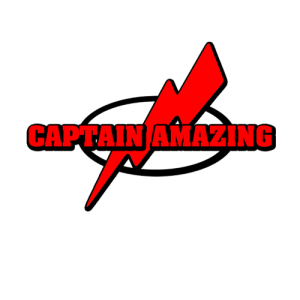 Capatain Amazing - Funny T Shirt