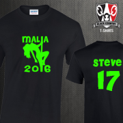 Custom Malia Stripper T Shirts