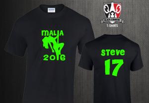 Custom Malia Stripper T Shirts