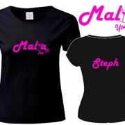 Custom Malia Holiday T Shirt