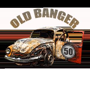 Old Banger - Custom Birthday T Shirt