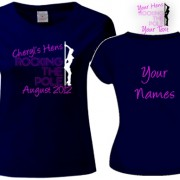 Rock The Pole Hen Party T Shirts