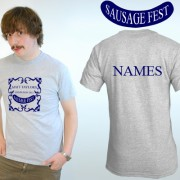 Sausagefest Stag Party T Shirts