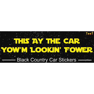 This ay the car yowm lookin fower car sticker