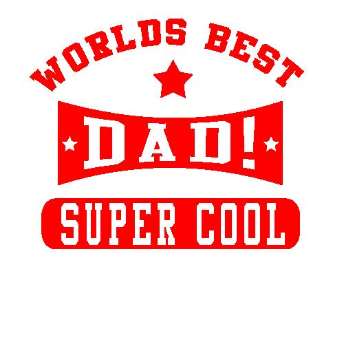 Super Cool Dad T Shirt Black Country T Shirts